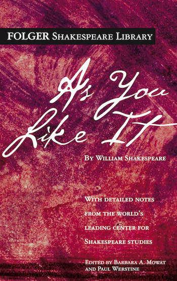 as you like it cover - shakespeare