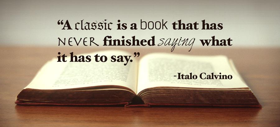 classic book quote by italo calvino