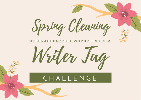 spring cleaning writer challenge