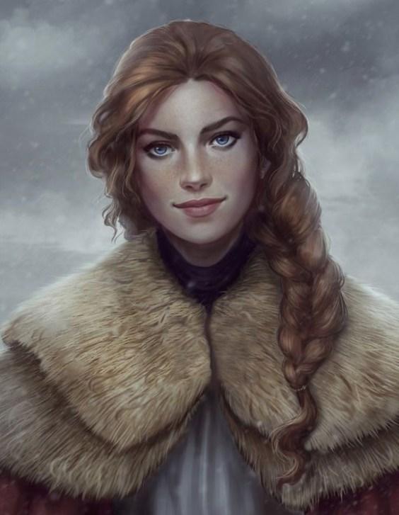 tara, hero of an upcoming fantasy series