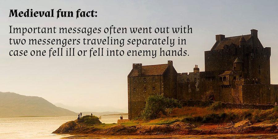 Medieval fun fact