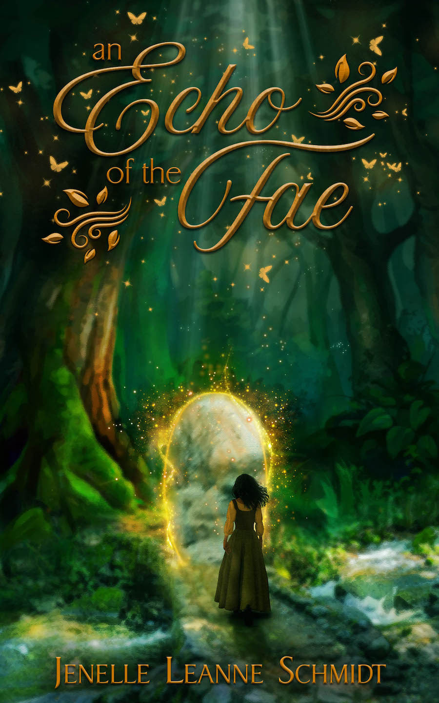 Echo of the Fae Cover -fantasy novel book cover