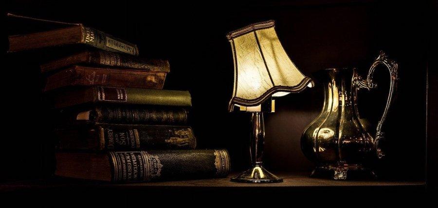 book lamp night light