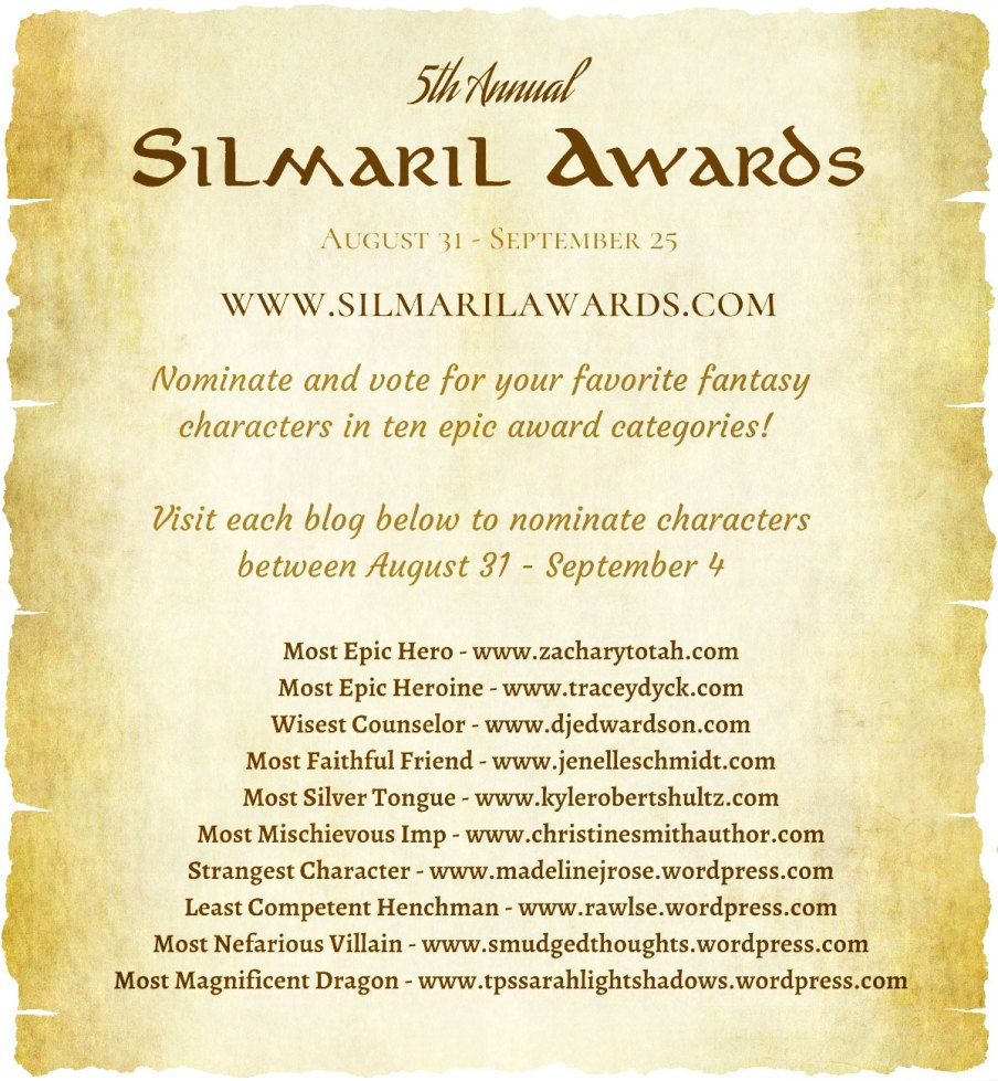 5th annual Silmaril Awards 2020