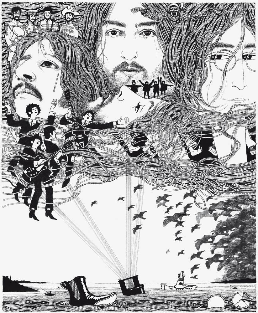 Klaus Voormann Revolver artwork