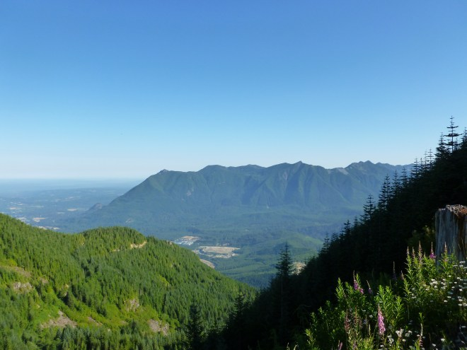 Mt Si from north and east