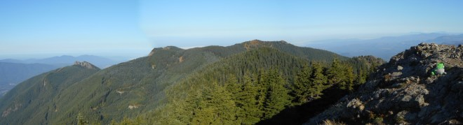 Panorama from Teneriffe summit
