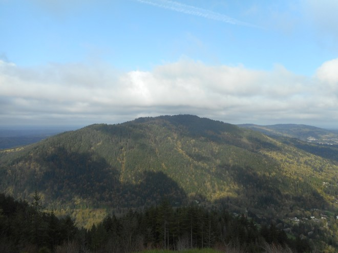 Squak Mountain from Poo Poo