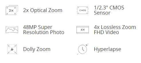 DJI Mavic 2 Zoom spec