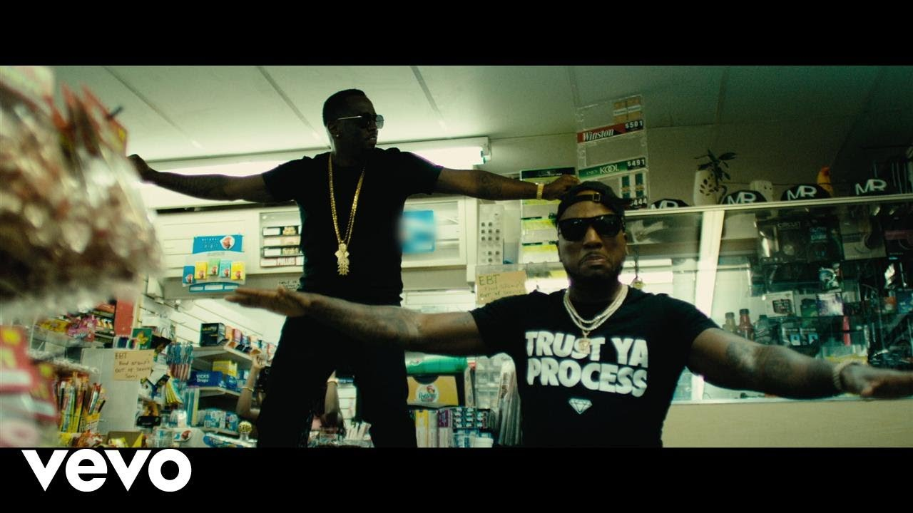 Jeezy – Bottles Up (feat. Puff Daddy)[Music Video]