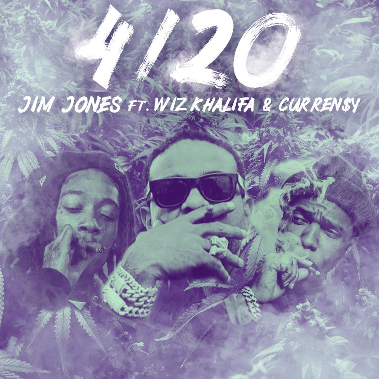 Jim Jones – 4/20 (feat. Wiz Khalifa & Curren$y)