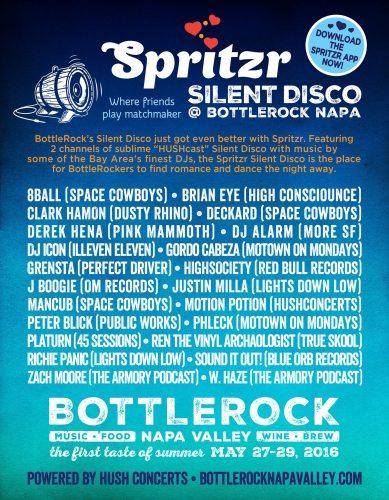 BottleRock Napa Silent Disco