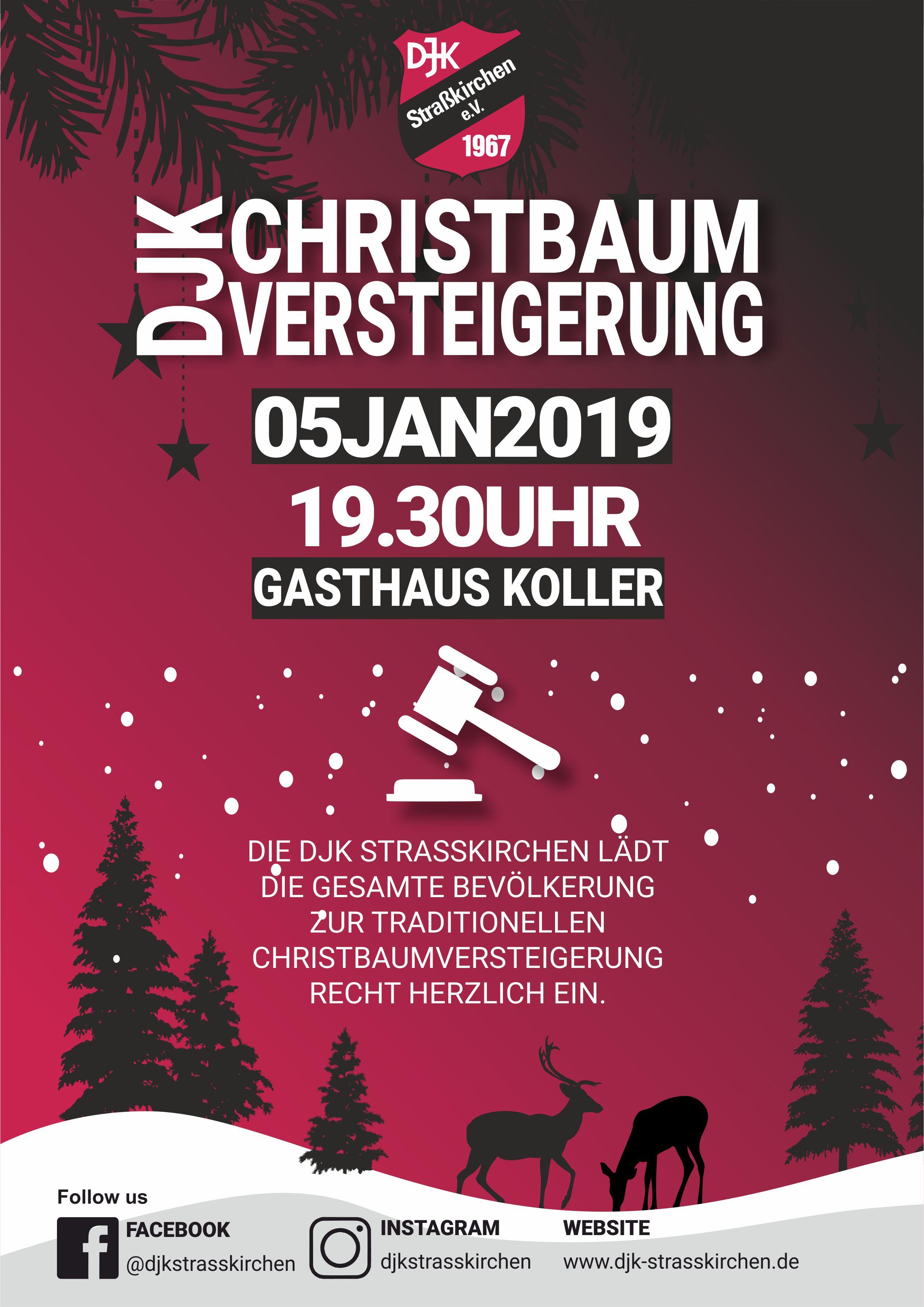 DJK Christbaumversteigerung 2019
