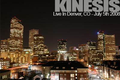 Kinesis Live in Denver Colorado