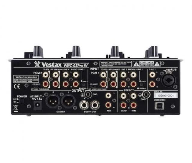 Vestax Pmc  Rear