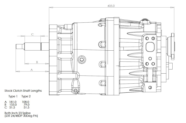 Djm Motorsport Db400 Inline 6 Speed Sequential Gearbox
