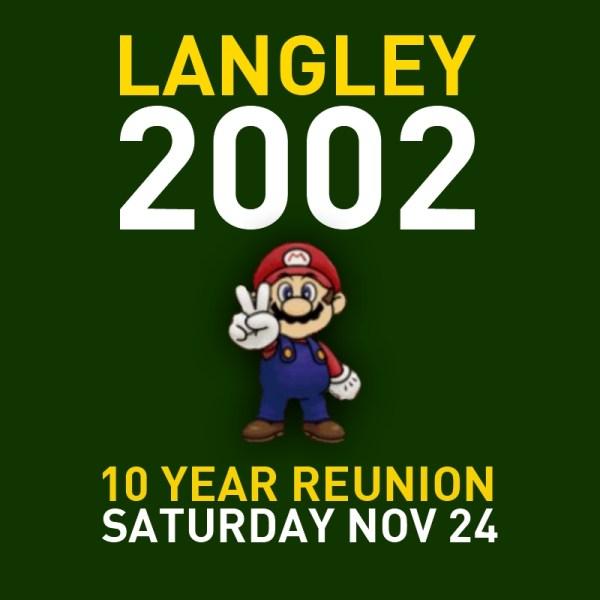 Langley High School class of 2002 Reunion