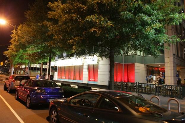 Lighting up a bar in Arlington Virginia