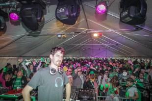 Washington DC DJ Maskell at Shamrockfest 2013