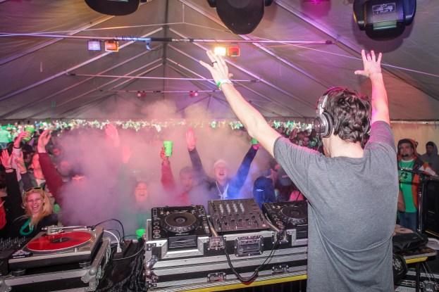 DJ Maskell at Shamrockfest 2013