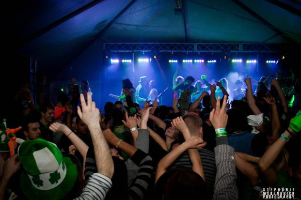 dj maskell at shamrockfest washington dc