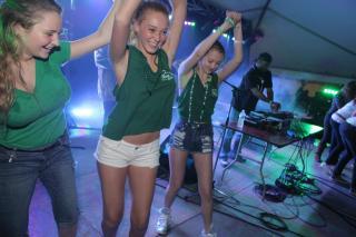 shamrockfest dj stage