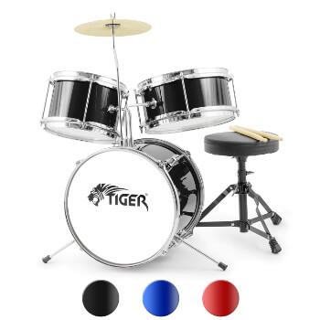 tiger junior kids drum kit 3 piece
