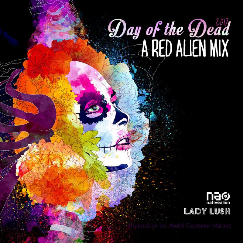 Day of the Dead 9 - A Red Alien Mix | DJ Red Sonya