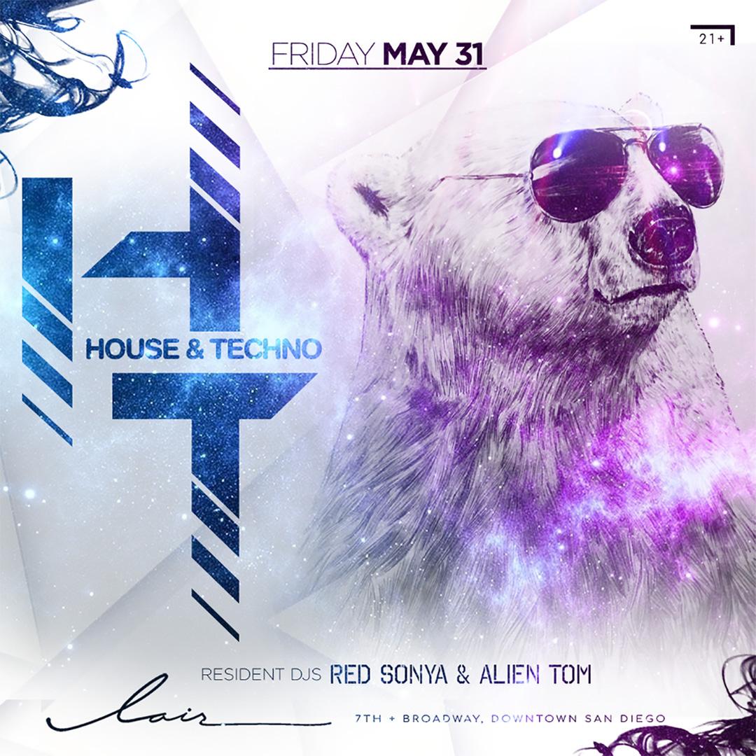 DJ Red Sonya Live at Lair Nightclub @ Parq San Diego 5/31/19