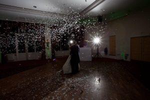 Wedding reception disco