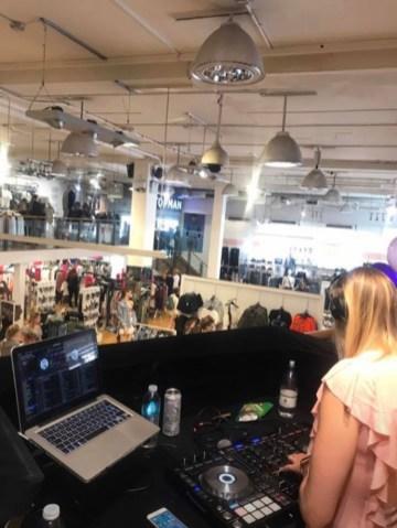 Shop opening DJ Norwich