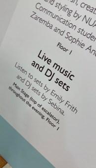 Shop, female DJ, Norwich