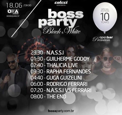 boss party line horario