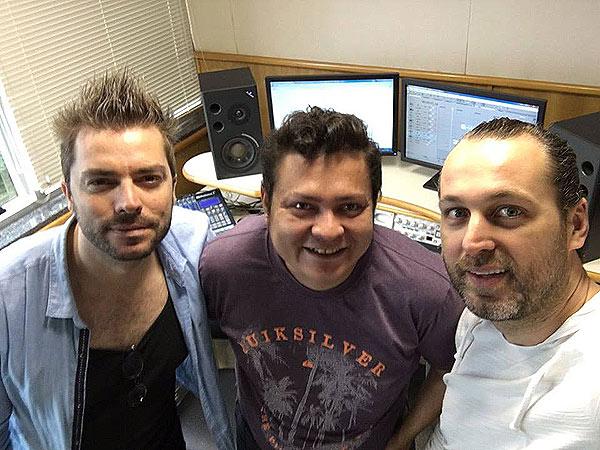 Elekfantz visita Jovem Pan FM Floripa - SC com Leandro Rabellus