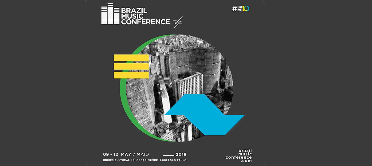 Brazil Music Conference em São Paulo, anuncia datas em Maio 2018