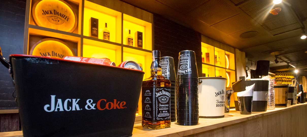 FanZone by Jack Daniel's inaugura no Allianz Parque