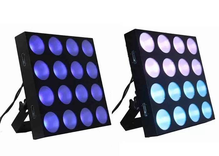 16pcs rgb panel dmx stage lighting led effect lighting 500w