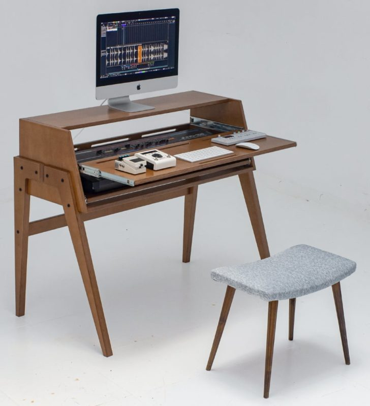 Audio Housing Compact One Music Production Desk Updated