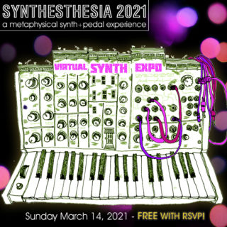 Free Online Synth Expo Today, Synthesthesia, Featuring Latest Gear, Educational Session & More