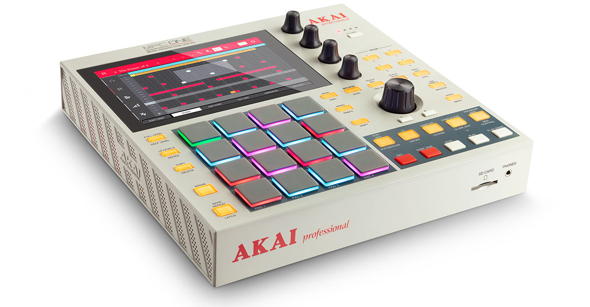 Akai Professional MPC One Retro Pairs Modern Features With Old-School Style