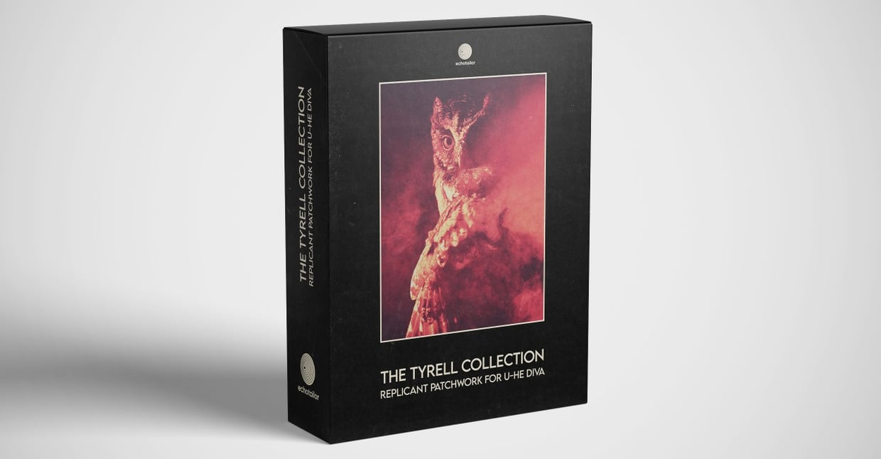 New 'Blade Runner' Inspired Patch Library For u-he Diva, The Tyrell Collection