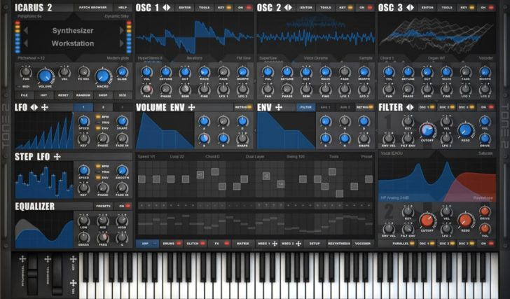 """Tone2 Releases Icarus2, """"The Most Advanced Wavetable Synthesizer On The Market"""""""