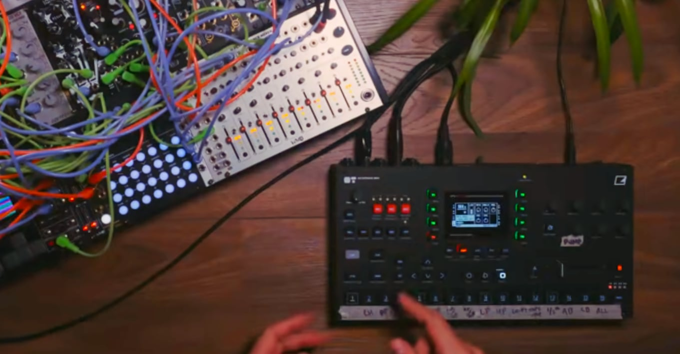 The Elektron Octatrack Is Your Modular Synth's Best Friend