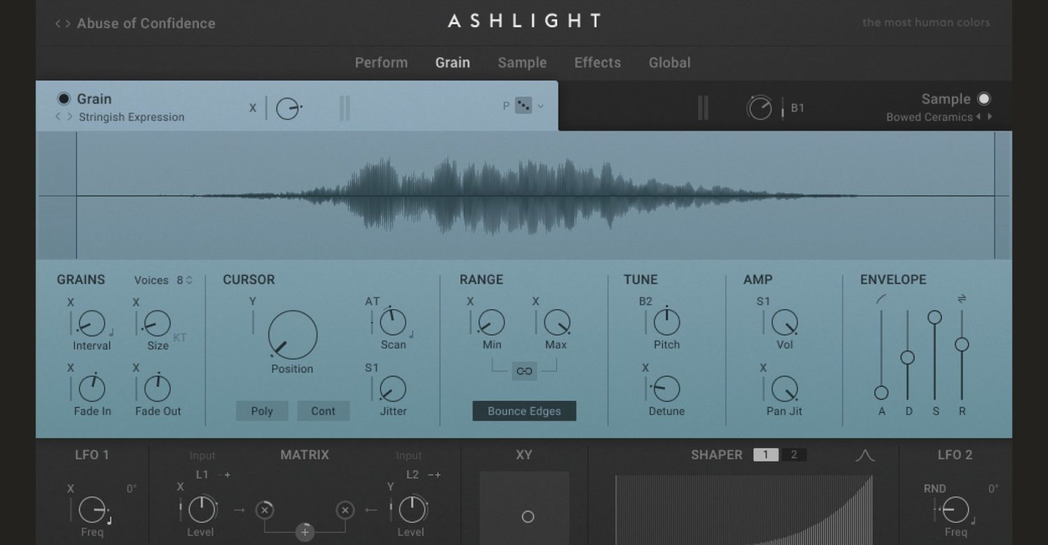 Native Instruments Intros Ashlight, A Synth Focused On 'The Darker Side Of Granular'