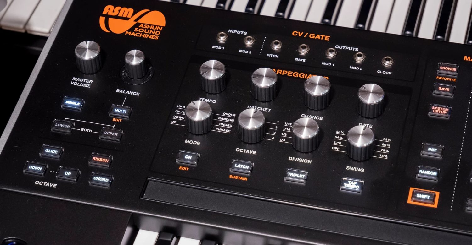 ASM Hydrasynth Deluxe A Flagship Synthesizer With 16 Voices, Polyphonic Aftertouch