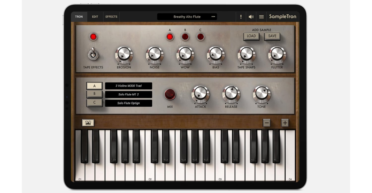 SampleTron 2 For iPad Now Available