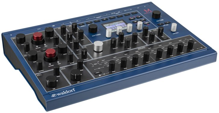 Waldorf M Wavetable Synthesizer A New Generation Of The Classic Microwave