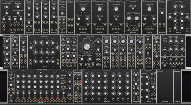 Cherry Audio VM900 Collection, A Software Recreation Of 27 Classic Moog Modular Synth Modules