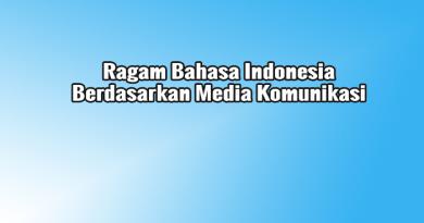ragam bahasa berdasarkan media