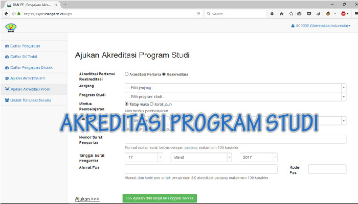 akreditasi program studi